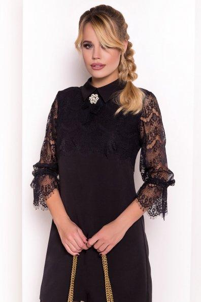 Платье Арабель 4159 Цвет: Черный/черный