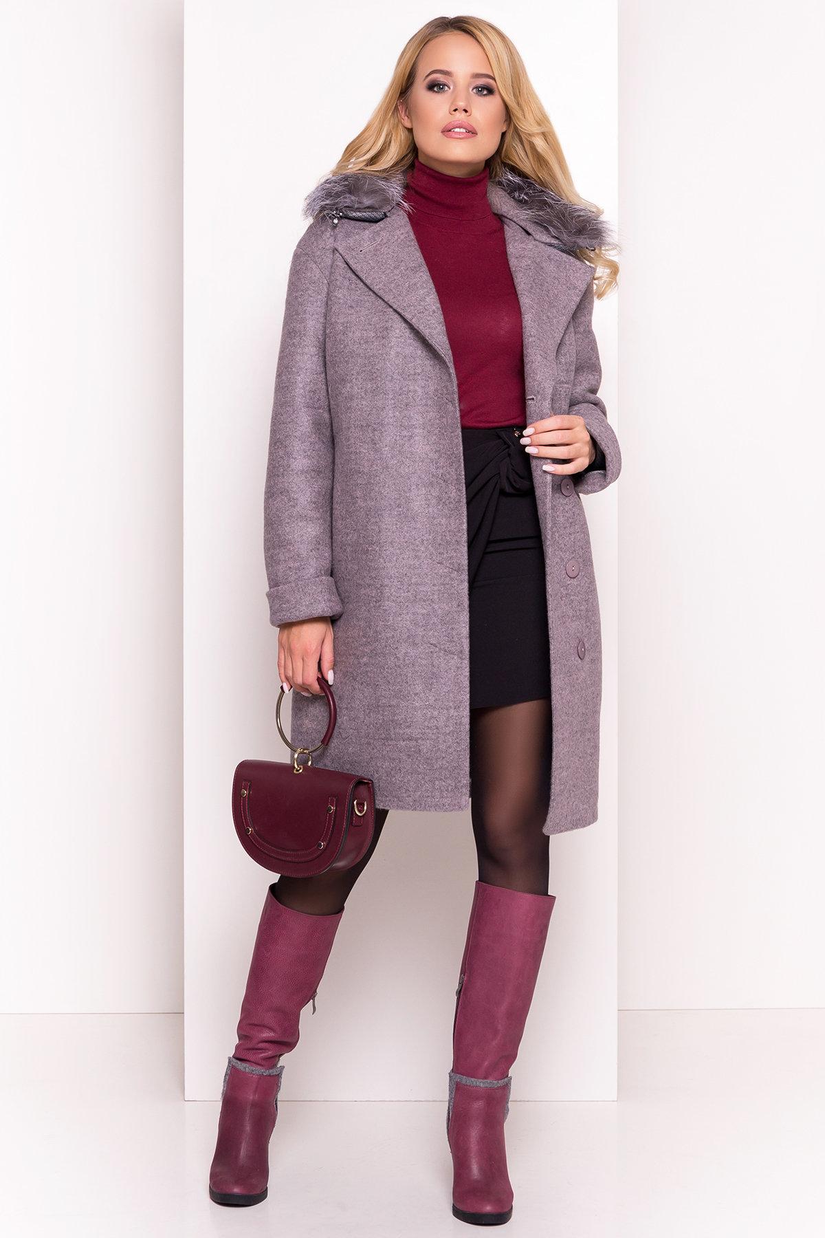 Пальто зима Приора 5669 АРТ. 38174 Цвет: Карамель 20 - фото 3, интернет магазин tm-modus.ru