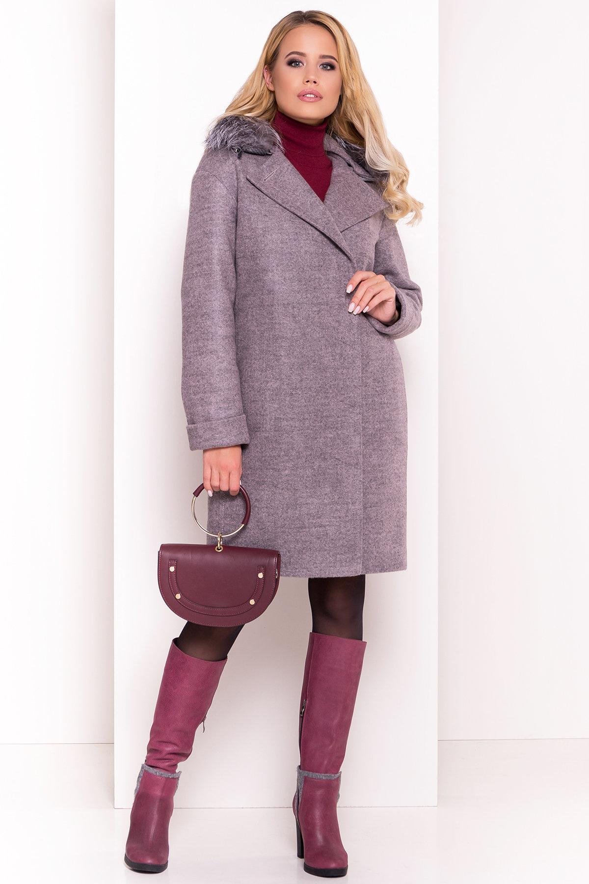 Пальто зима Приора 5669 АРТ. 38174 Цвет: Карамель 20 - фото 4, интернет магазин tm-modus.ru