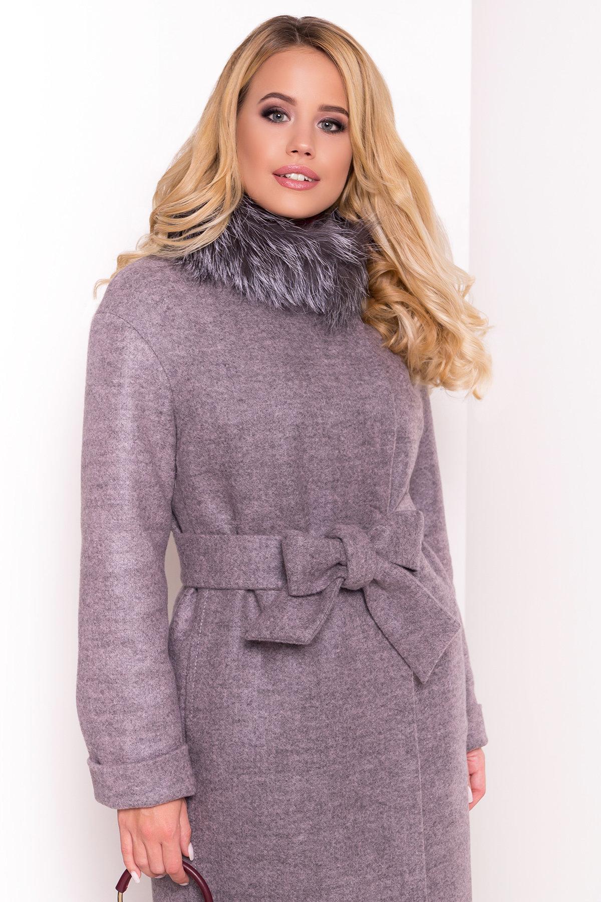 Пальто зима Приора 5669 АРТ. 38174 Цвет: Карамель 20 - фото 5, интернет магазин tm-modus.ru