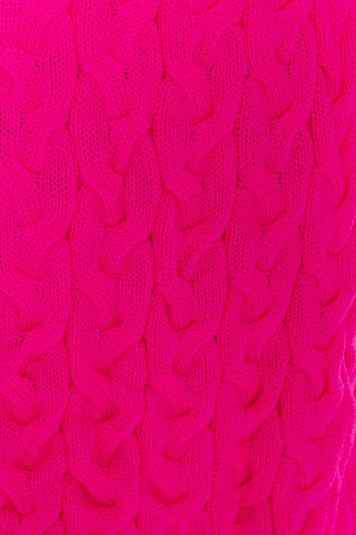 Кардиган длинный Лало АРТ. 7017 Цвет: Фуксия 2593 - фото 4, интернет магазин tm-modus.ru