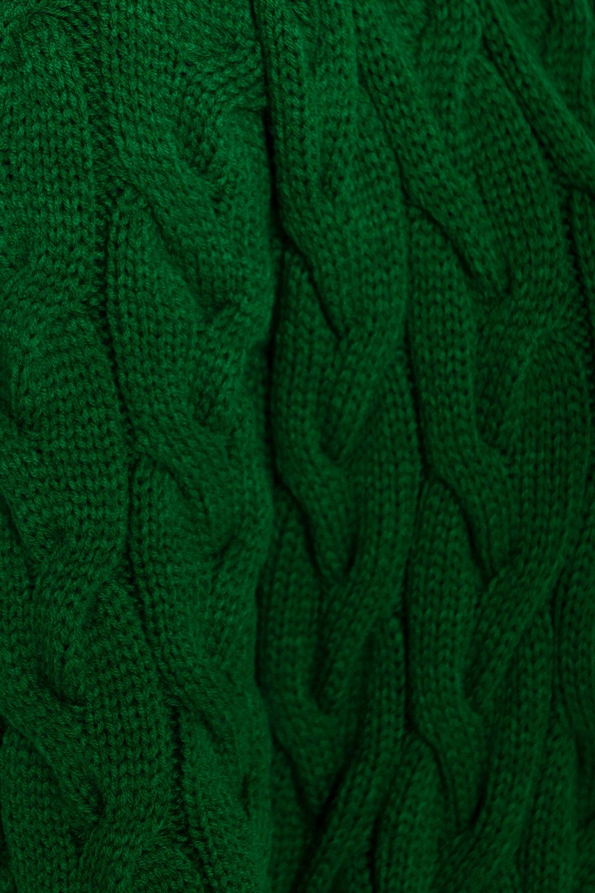 Кардиган длинный Лало Цвет: Зеленый 02