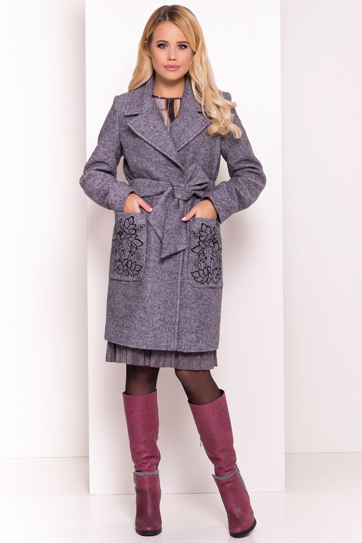 Женское пальто от производителя от Modus Демисезонное пальто из варенной шерсти Милена 5273