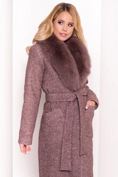 Пальто зима Габриэлла 4150 Цвет: Кофе LW-4