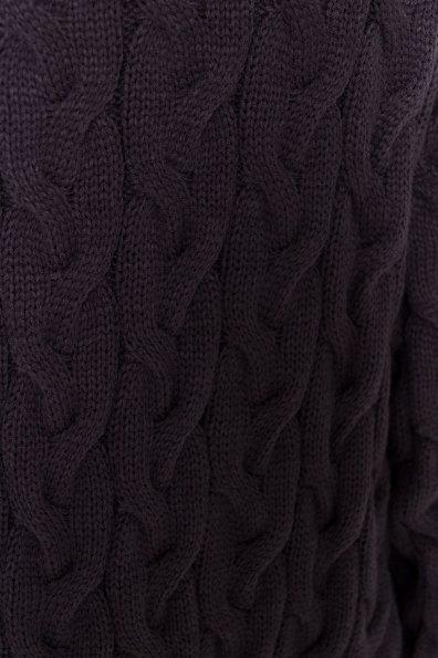 Кардиган длинный Лало Цвет: Тёмно-серый 002