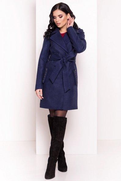 Пальто Кармен 5416 Цвет: Темно-синий 17