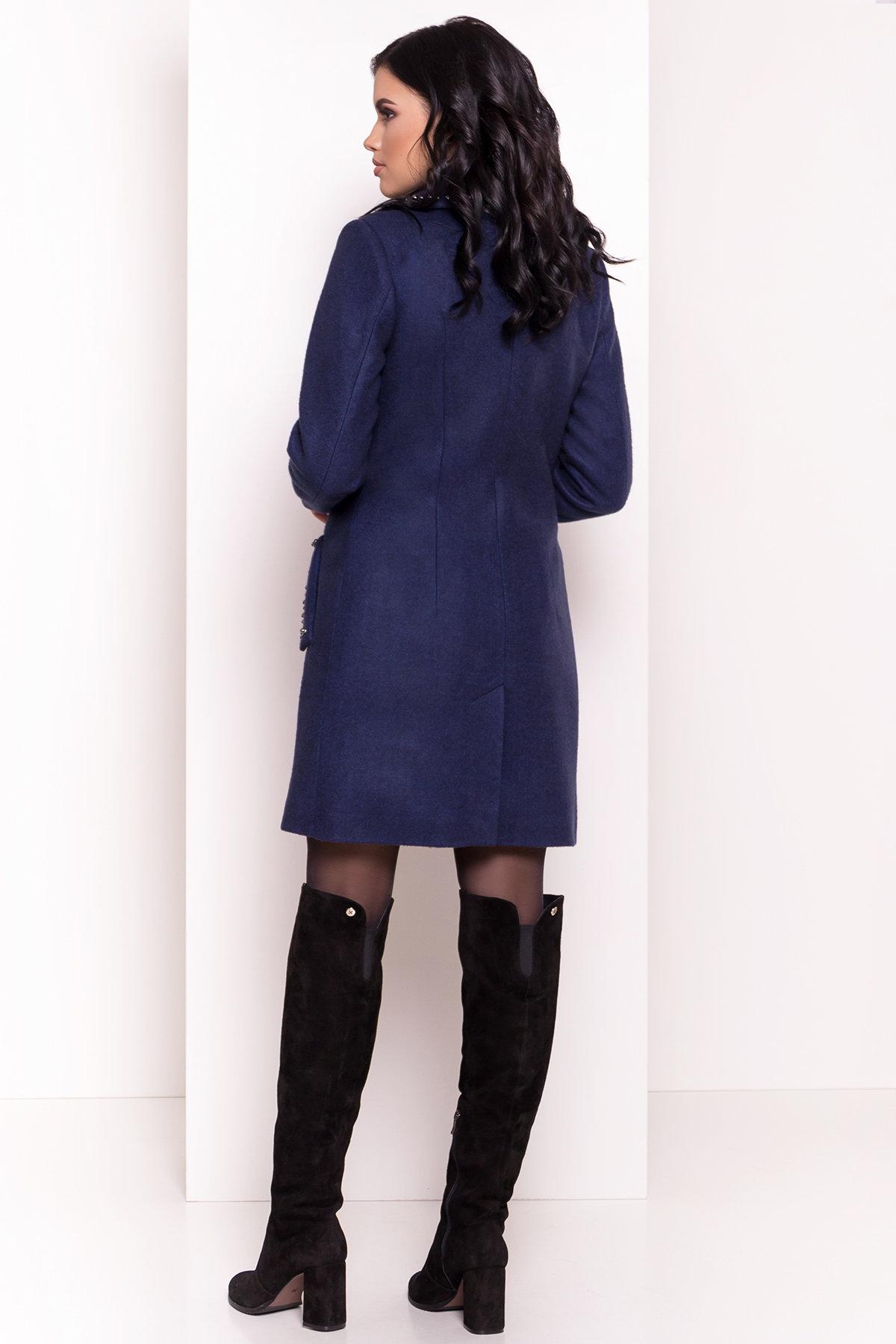 Пальто Кармен 5416 АРТ. 36777 Цвет: Темно-синий 17 - фото 2, интернет магазин tm-modus.ru