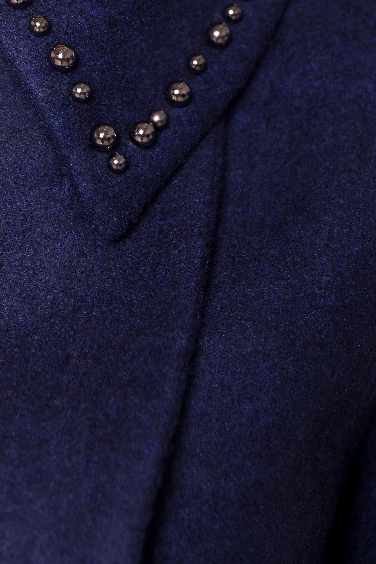 Пальто Кармен 5416 АРТ. 36777 Цвет: Темно-синий 17 - фото 6, интернет магазин tm-modus.ru