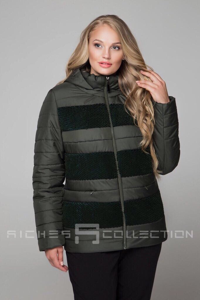 Зимняя куртка 607-5948 Цвет  Хаки. РОЗДРІБНА ЦІНА  9d26d75b42bab