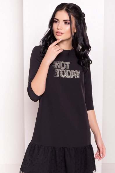Платье Медисон 5950 Цвет: Черный