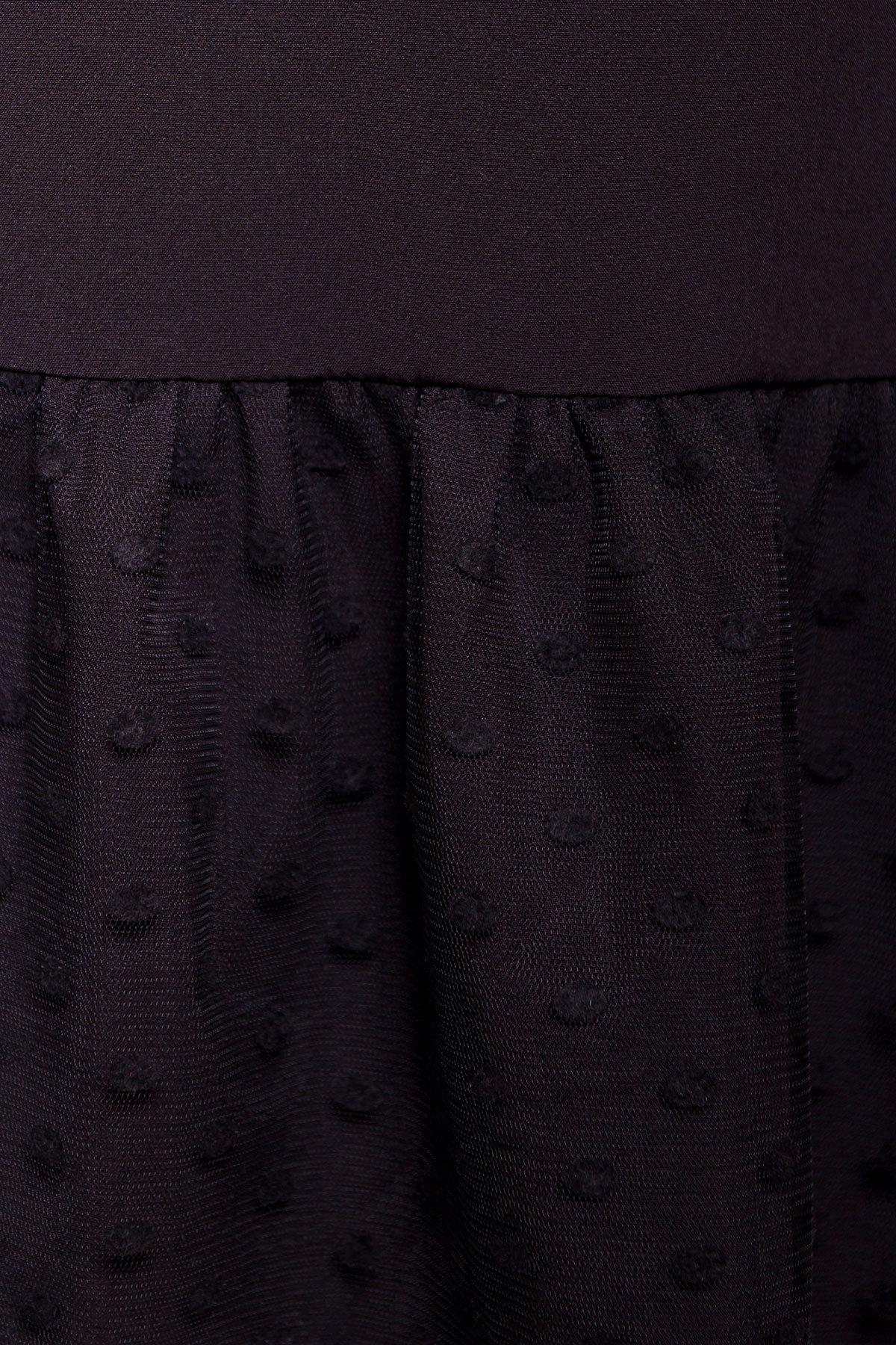 Платье Медисон 5950 АРТ. 40482 Цвет: Черный - фото 5, интернет магазин tm-modus.ru