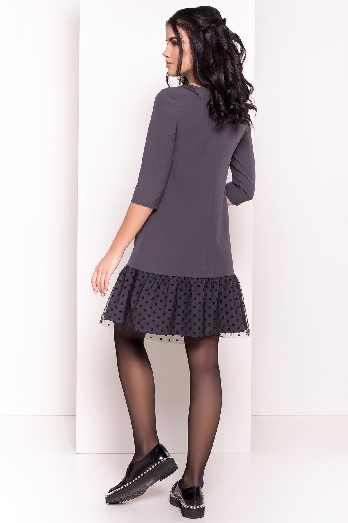 Платье Медисон 5950 Цвет: Серый