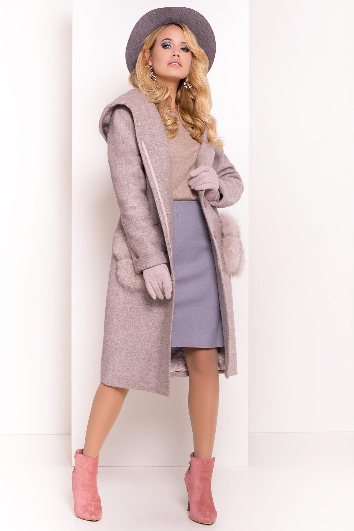 Пальто зима  Анита 4120 АРТ. 38129 Цвет: Бежевый 31 - фото 3, интернет магазин tm-modus.ru