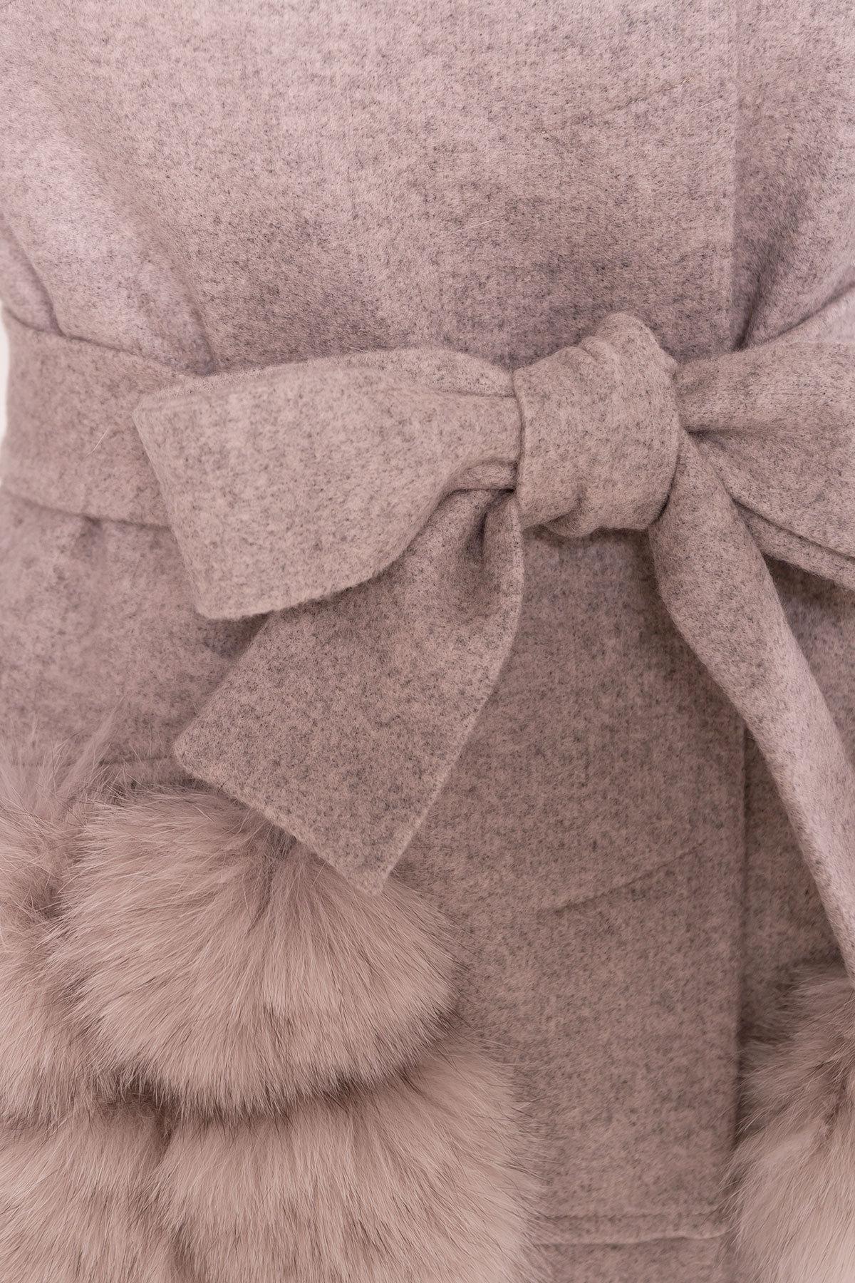 Пальто зима  Анита 4120 АРТ. 38129 Цвет: Бежевый 31 - фото 6, интернет магазин tm-modus.ru
