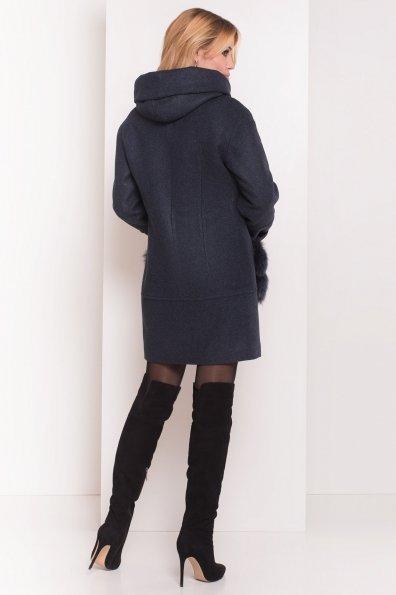 Пальто зима Анита 5752 Цвет: Синий/Зеленый 72