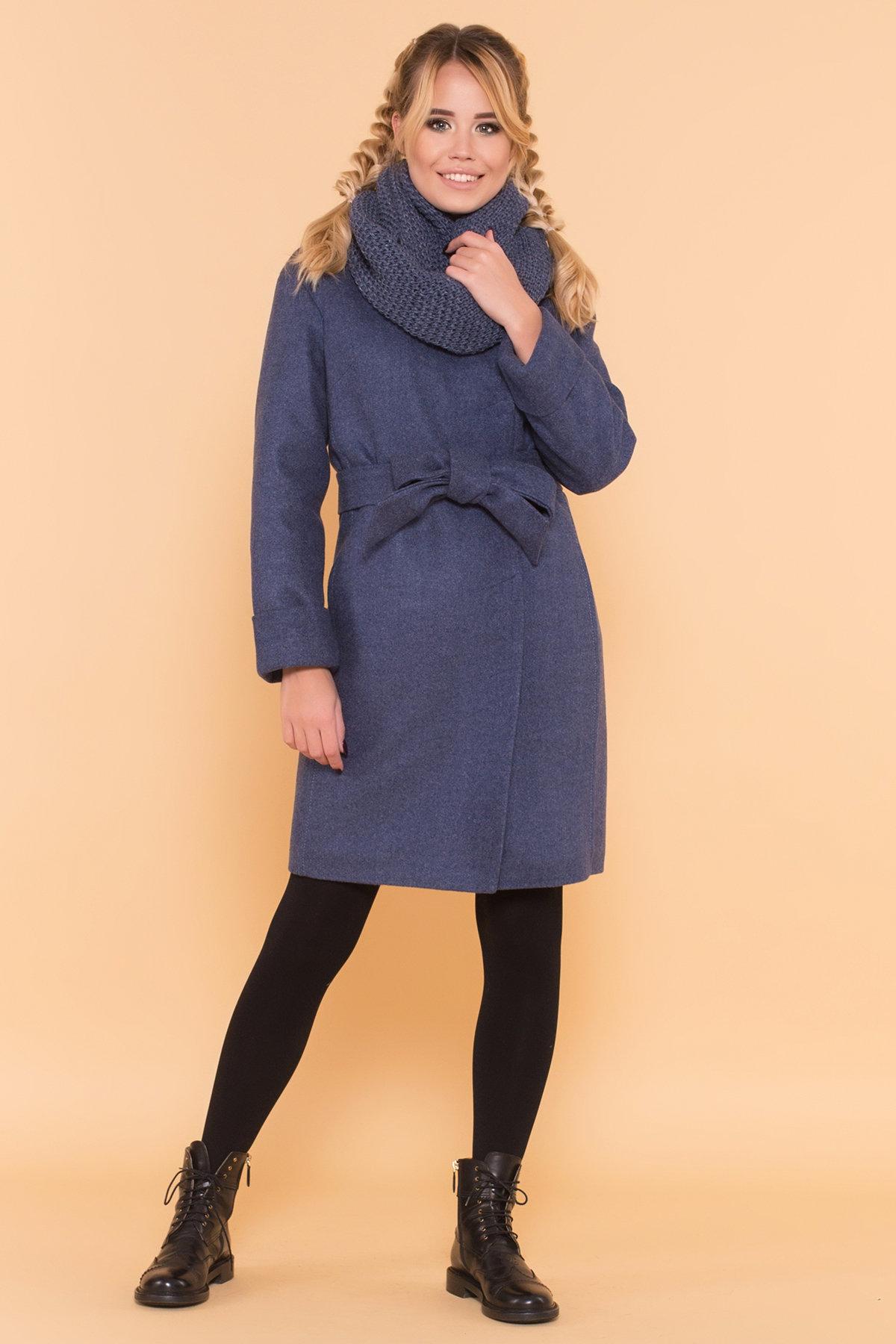 Женское пальто недорого от TM Modus Классическое однобортное пальто зима с отложным воротником Приора 5835