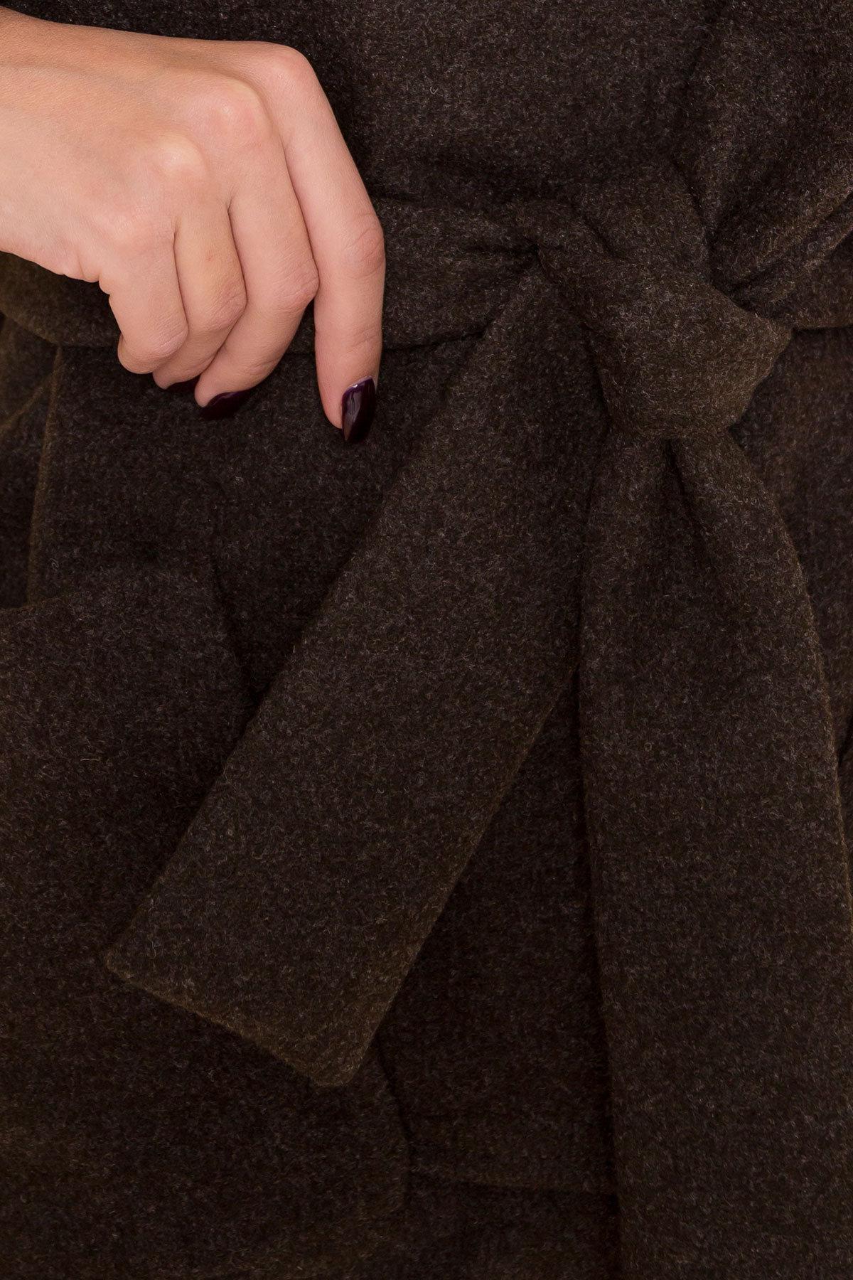 Теплое зимнее пальто Анита 4122 АРТ. 39666 Цвет: Хаки 16 - фото 6, интернет магазин tm-modus.ru
