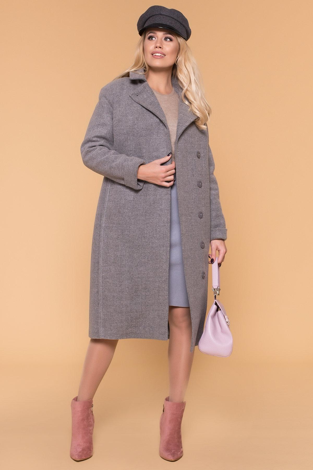 Пальто зима Богема 5707 АРТ. 38004 Цвет: Серый 18 - фото 3, интернет магазин tm-modus.ru