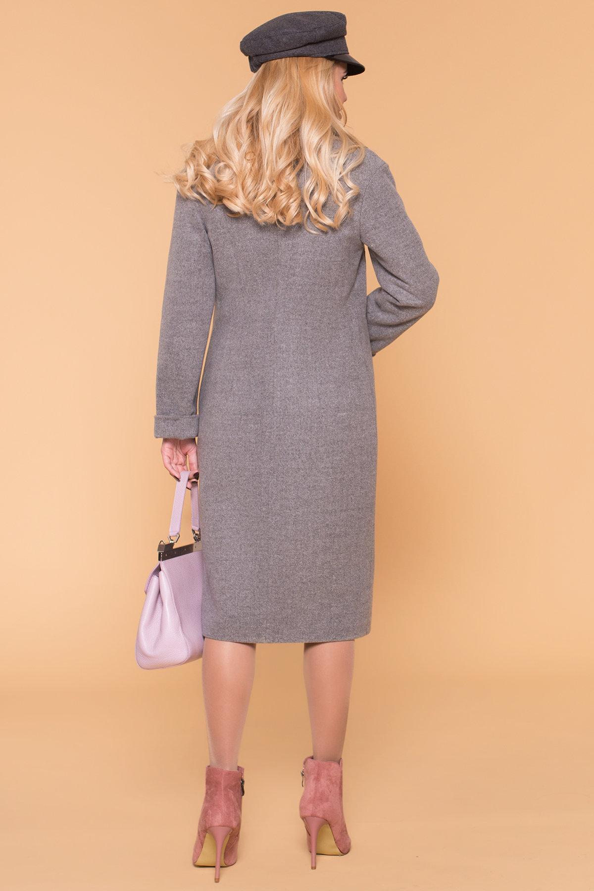 Пальто зима Богема 5707 АРТ. 38004 Цвет: Серый 18 - фото 2, интернет магазин tm-modus.ru