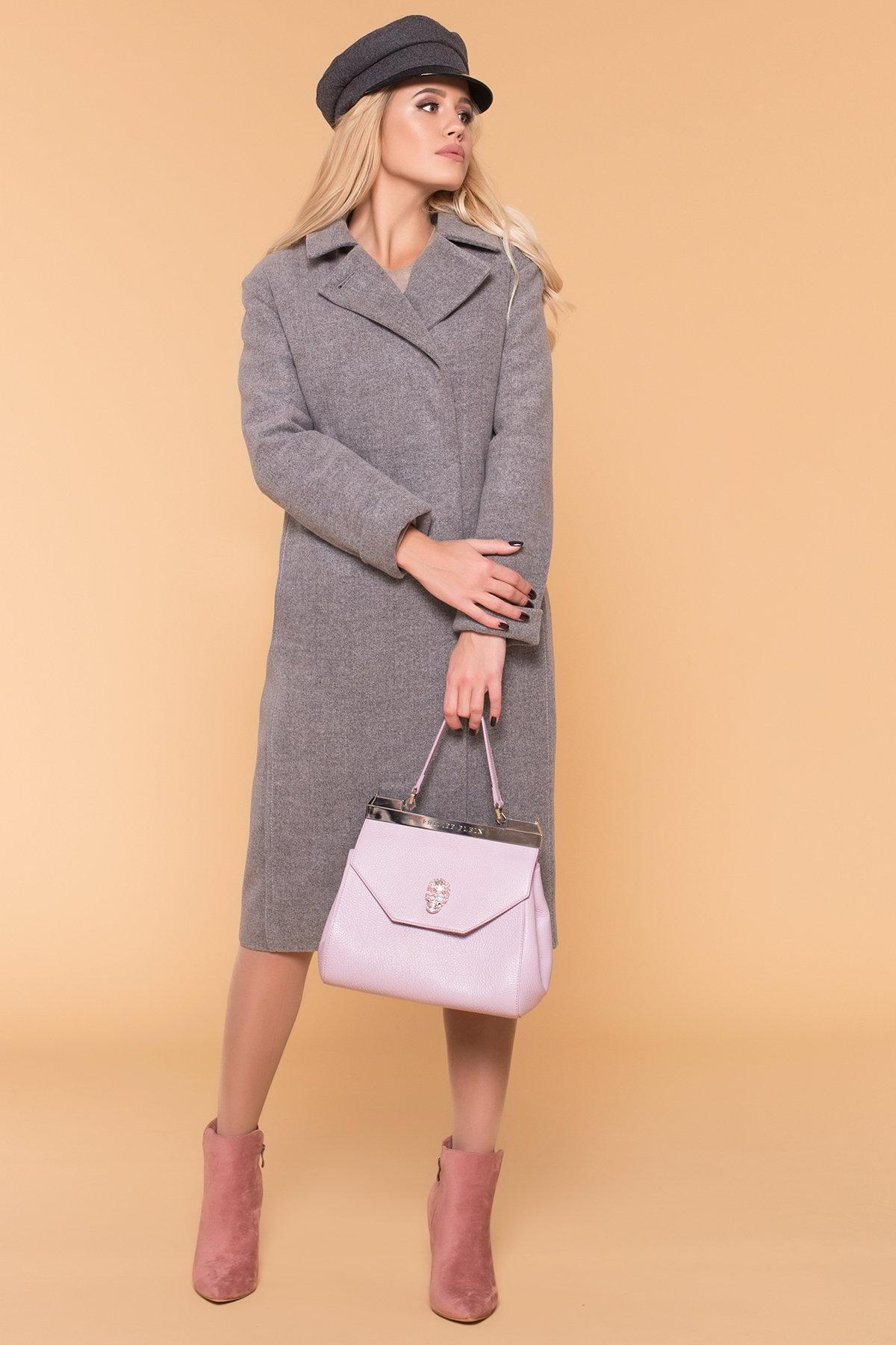 Пальто зима Богема 5707 АРТ. 38004 Цвет: Серый 18 - фото 4, интернет магазин tm-modus.ru