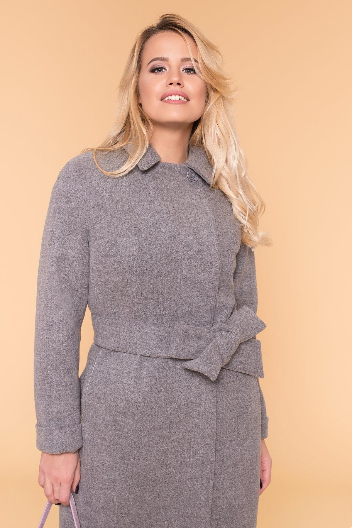 Пальто зима Богема 5707 АРТ. 38004 Цвет: Серый 18 - фото 5, интернет магазин tm-modus.ru