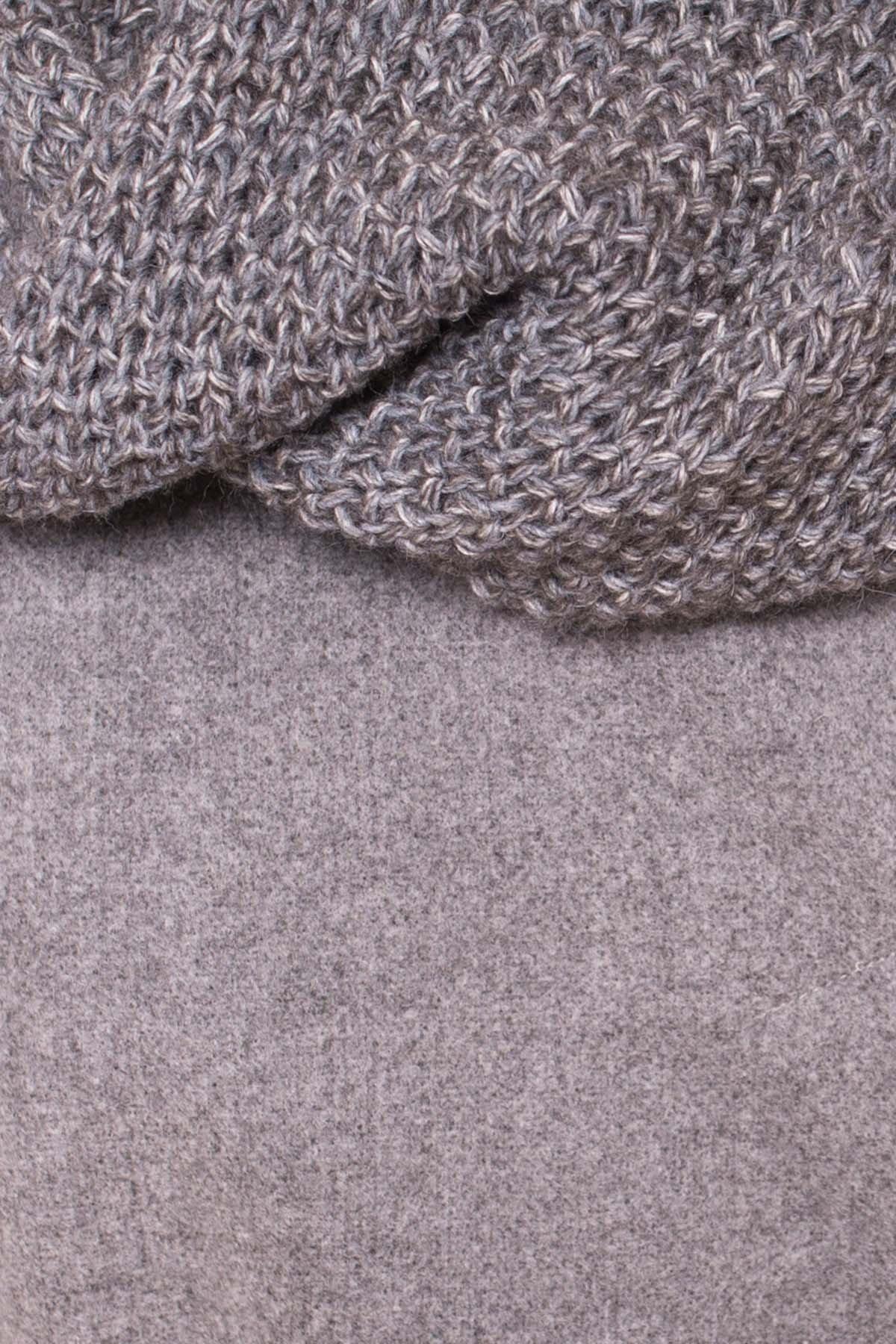 Пальто зима Богема 5707 АРТ. 38004 Цвет: Серый 18 - фото 6, интернет магазин tm-modus.ru