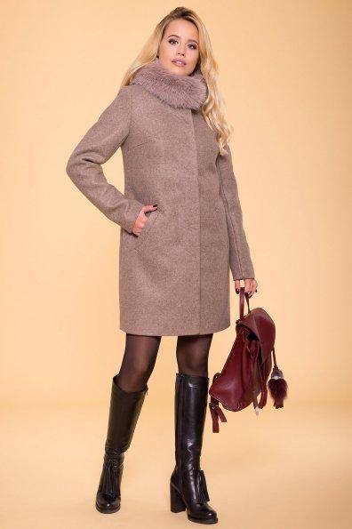 Пальто зима Фортуна 5747 Цвет: Бежевый 28