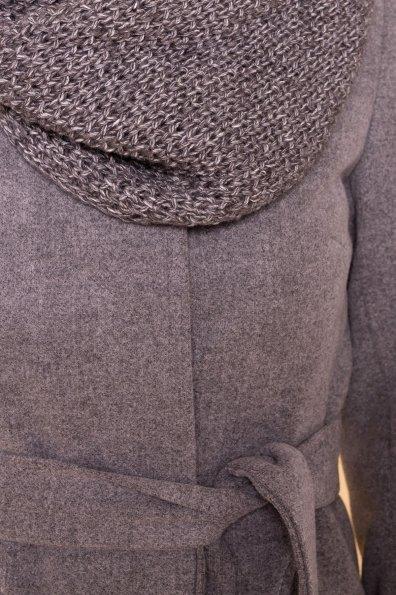 Пальто зима Люцея 5884 Цвет: Серый 18