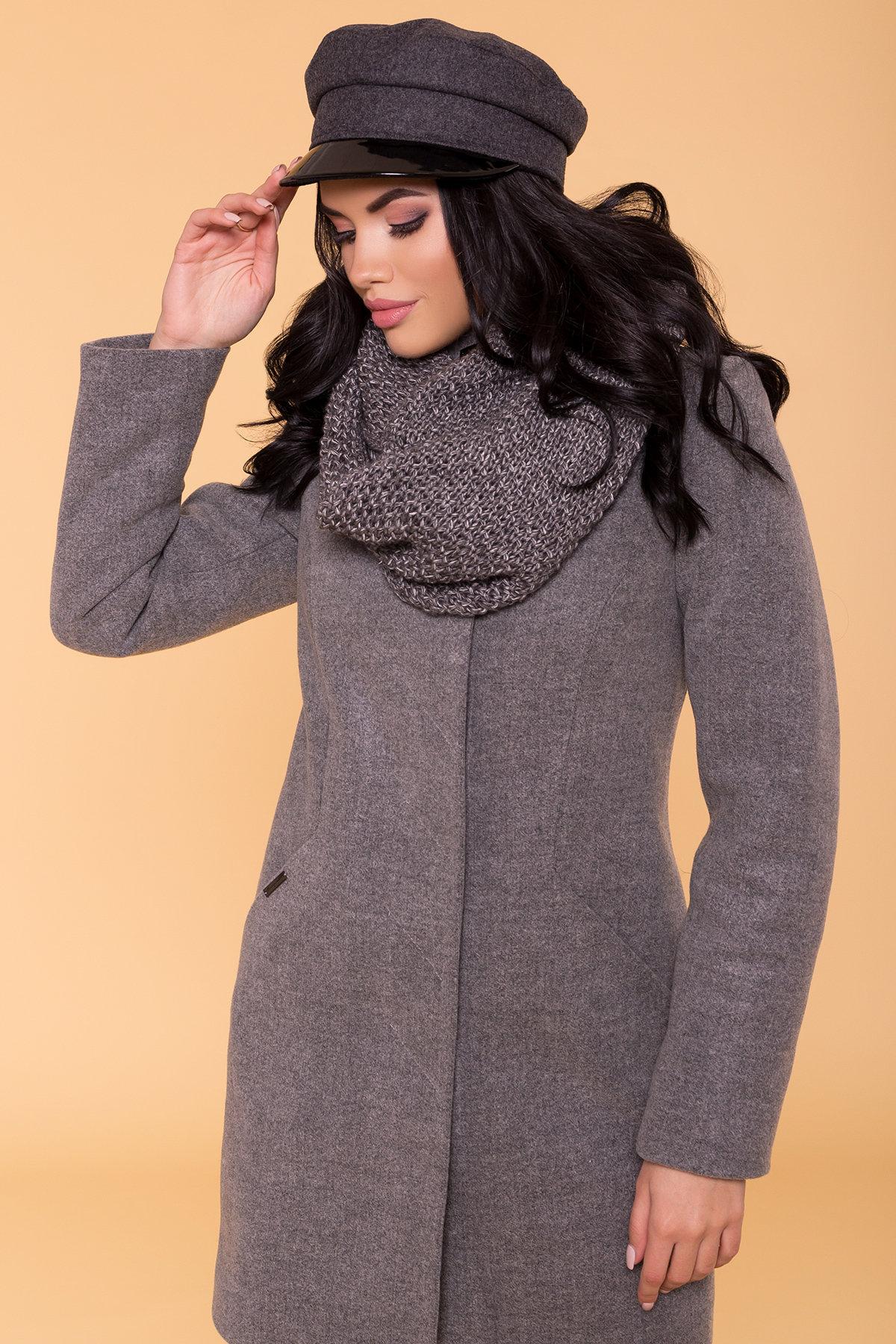 Пальто зима Сплит 5834 Цвет: Серый 18
