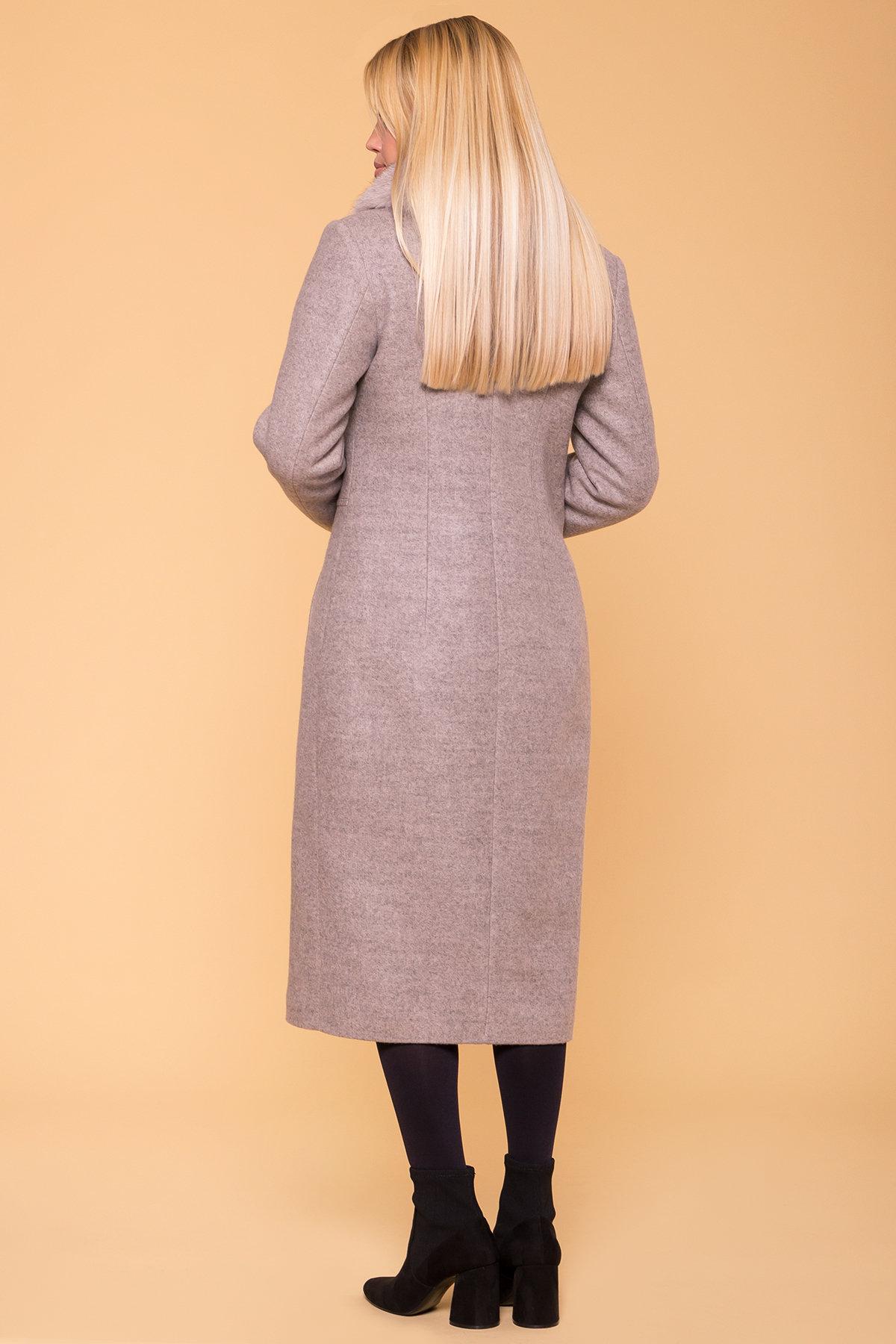 Пальто зима Габриэлла макси 5890 АРТ. 39456 Цвет: Бежевый 31 - фото 2, интернет магазин tm-modus.ru