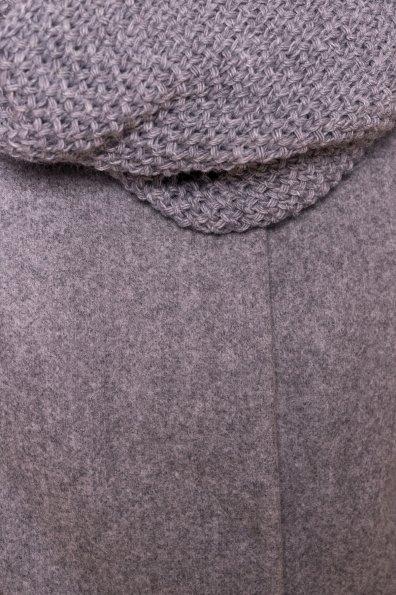 Зимнее пальто с воротником стойка Фортуна лайт 5804 Цвет: Серый Светлый 77