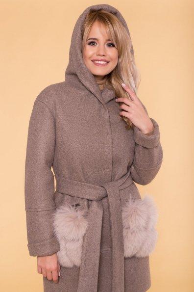 Пальто зима Анита 5752 Цвет: Бежевый 28
