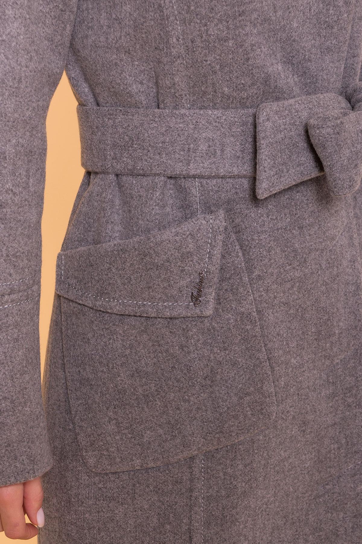Пальто зима Стейси 5647 Цвет: Серый 18