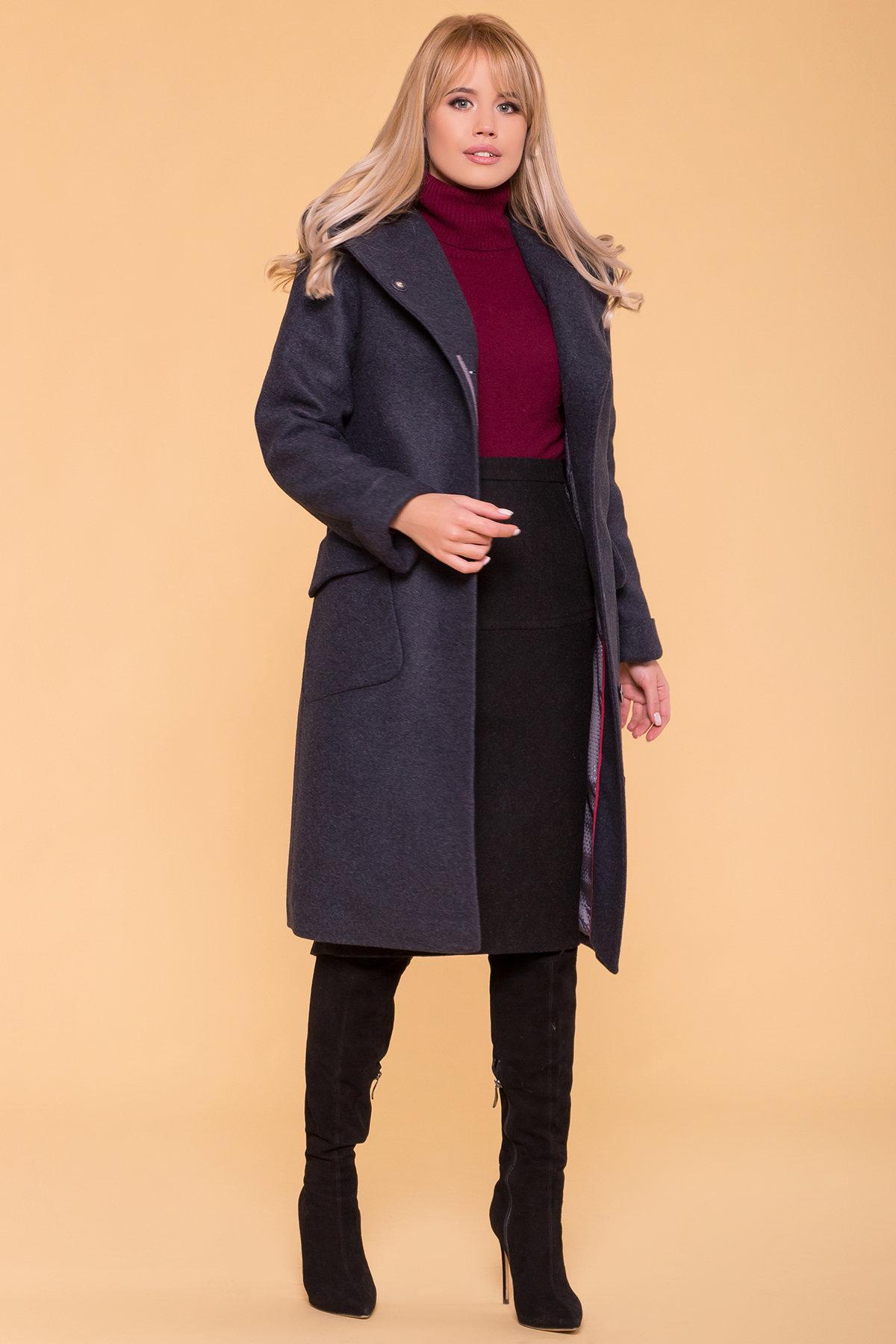 Пальто зима Анджи 5501 АРТ. 37018 Цвет: Синий/Зеленый 72 - фото 3, интернет магазин tm-modus.ru