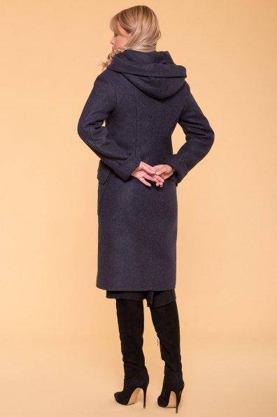 Пальто зима Анджи 5501 Цвет: Синий/Зеленый 72