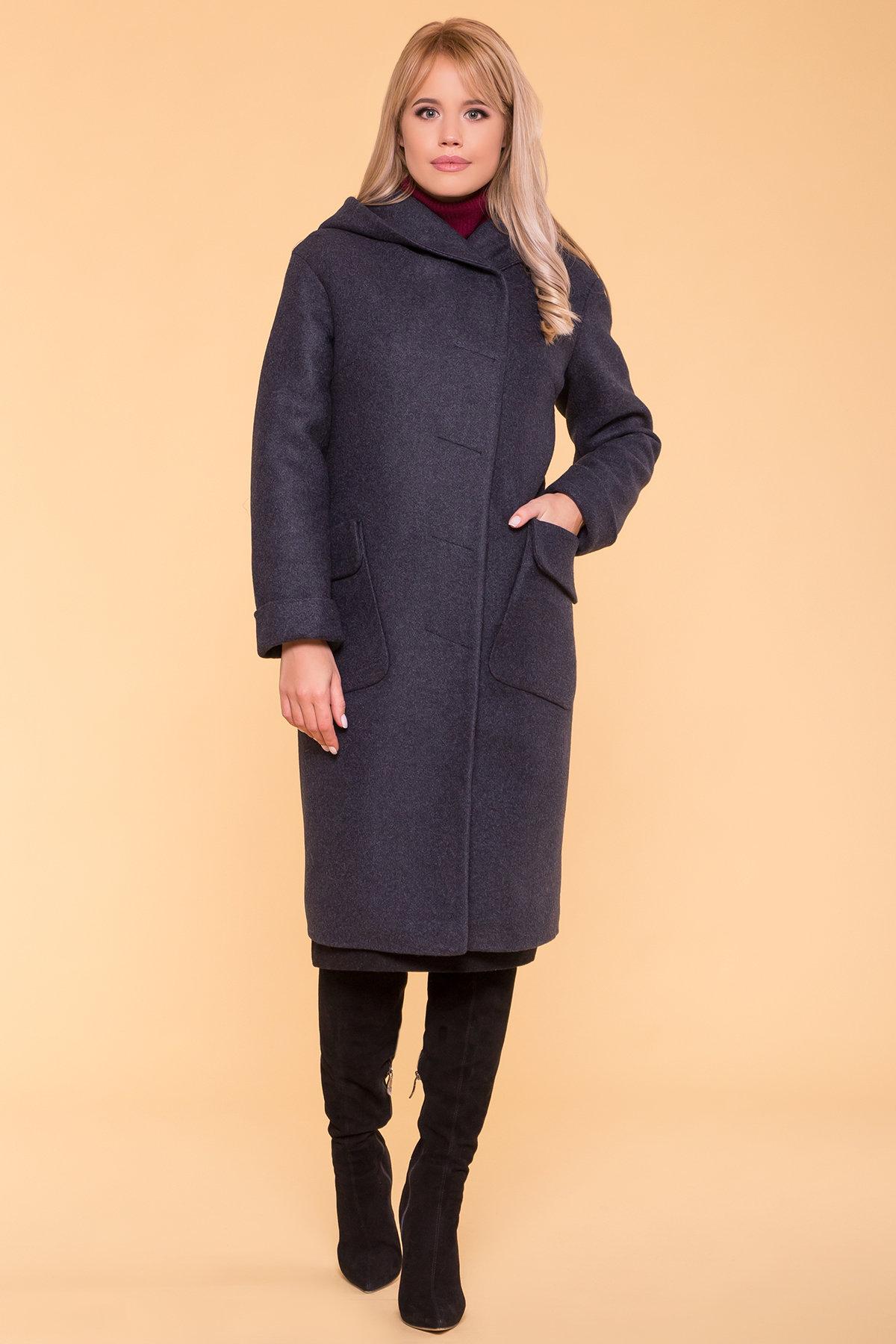 Пальто зима Анджи 5501 АРТ. 37018 Цвет: Синий/Зеленый 72 - фото 4, интернет магазин tm-modus.ru
