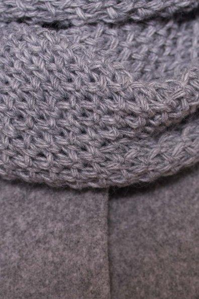 Пальто зима Люцея 5888 Цвет: Серый Светлый 77