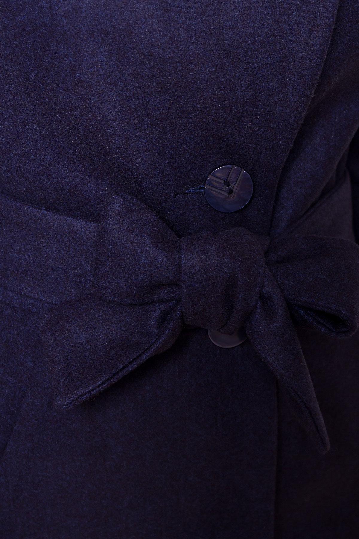 Пальто зима Габриэлла 5865 Цвет: Т.синий 17