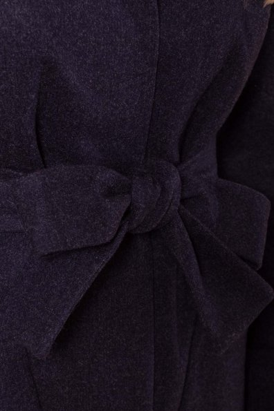 Теплое зимнее пальто Анита 4122 Цвет: Темно-синий