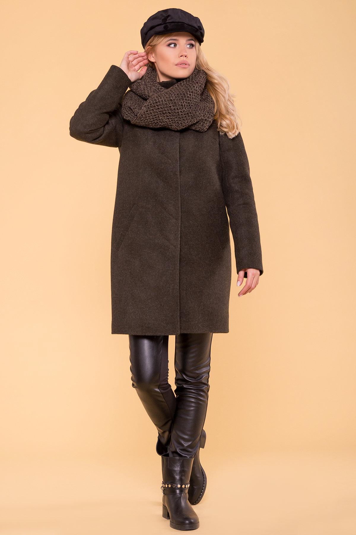 Купить зимнее пальто от производителей Зимнее пальто с хомутом Фортуна лайт 5802