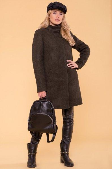 Пальто зима Фортуна лайт 5802 Цвет: Хаки 16