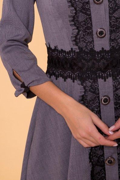 Платье Арго 4304 Цвет: Темно-синий/белый