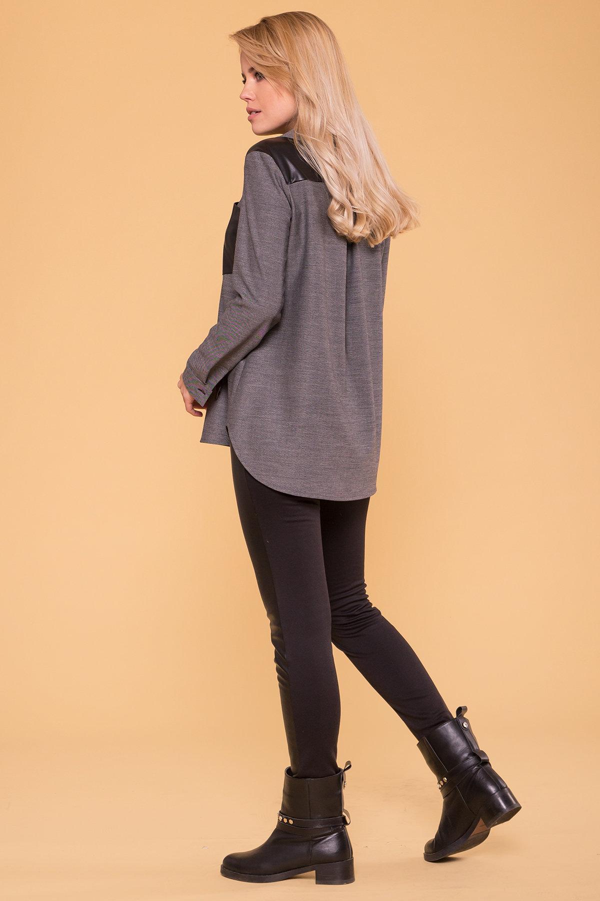 Рубашка Даната 5915 Цвет: Серый