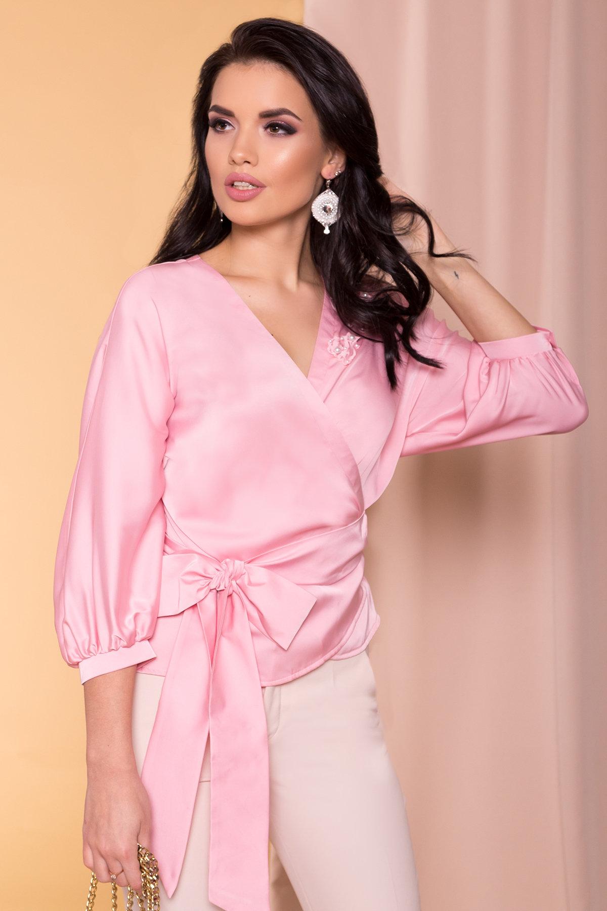 Блуза Олимпия 2304 АРТ. 14926 Цвет: Розовый - фото 3, интернет магазин tm-modus.ru