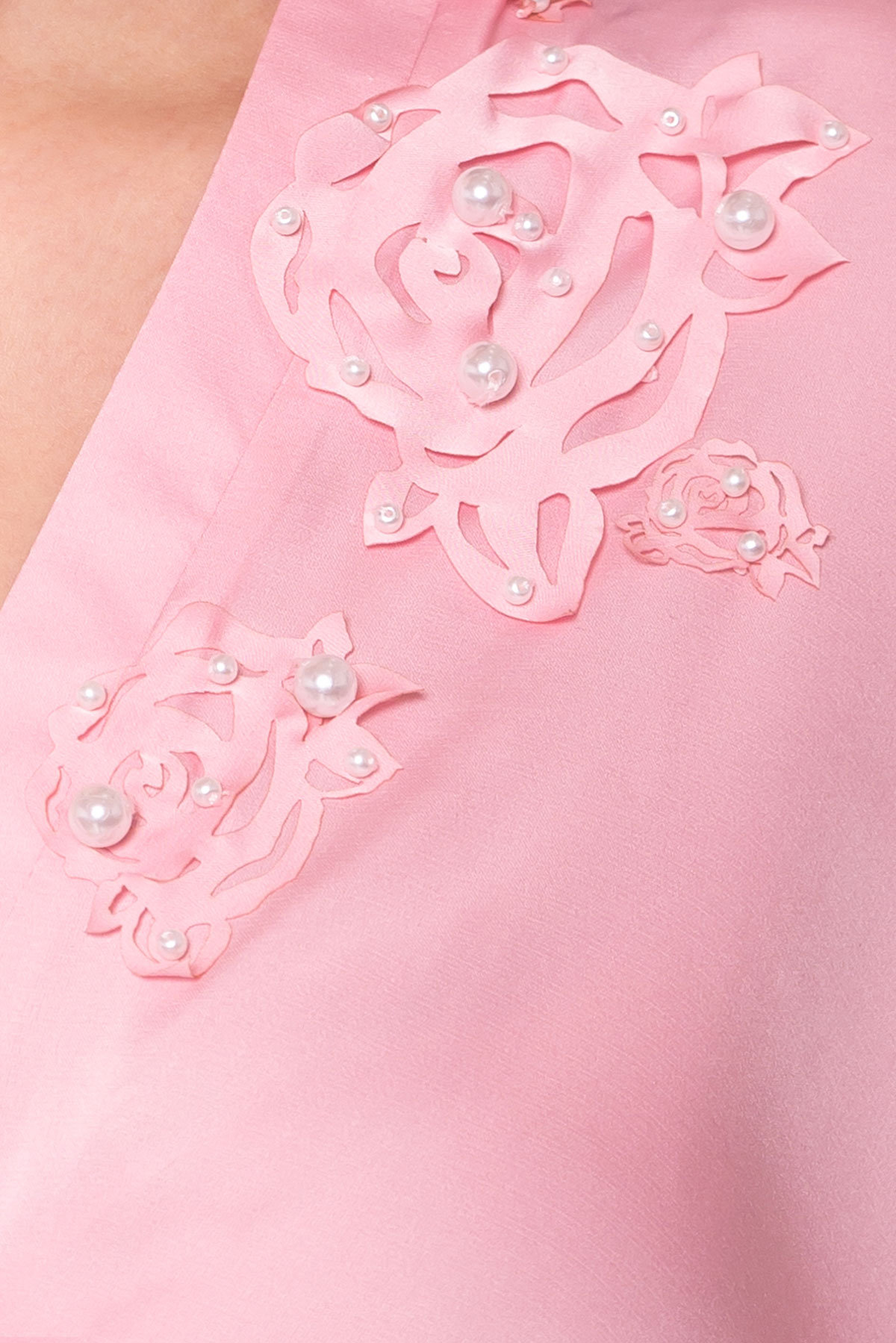 Блуза Олимпия 2304 АРТ. 14926 Цвет: Розовый - фото 4, интернет магазин tm-modus.ru