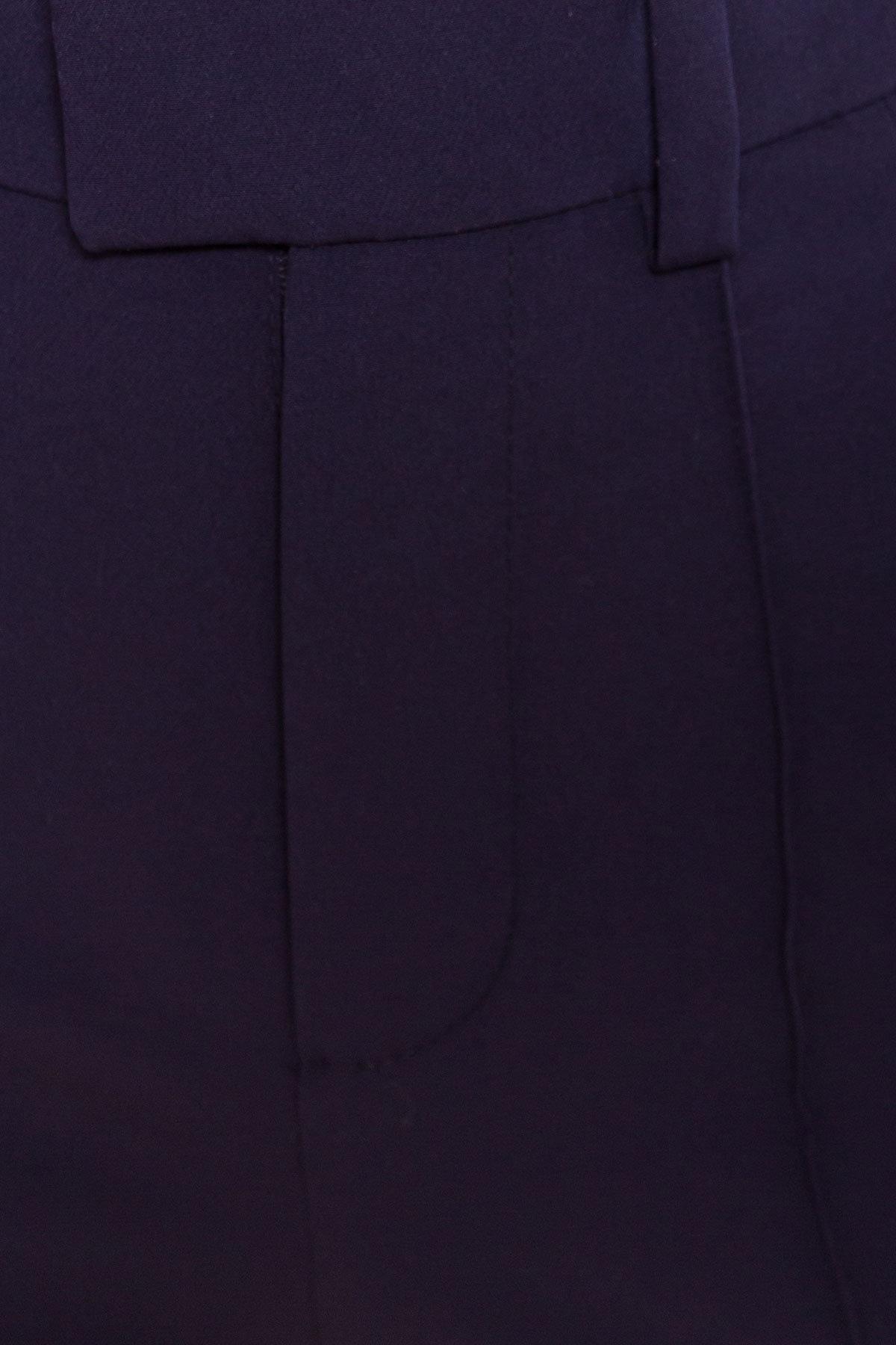 Брюки клеш Лакруа 3289 АРТ. 16799 Цвет: Тёмно - синий - фото 5, интернет магазин tm-modus.ru