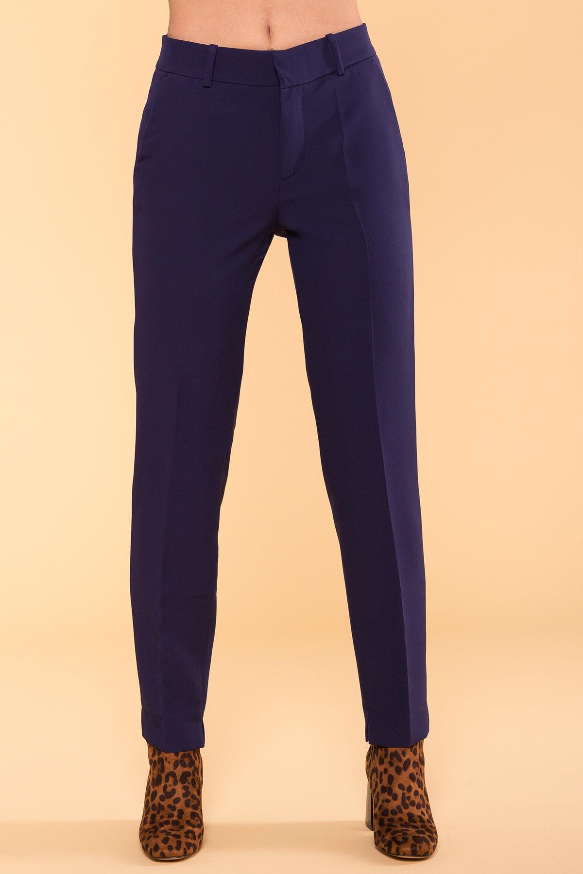 Базовые брюки со стрелками Эдвин 2467 АРТ. 15260 Цвет: Тёмно-синий - фото 6, интернет магазин tm-modus.ru