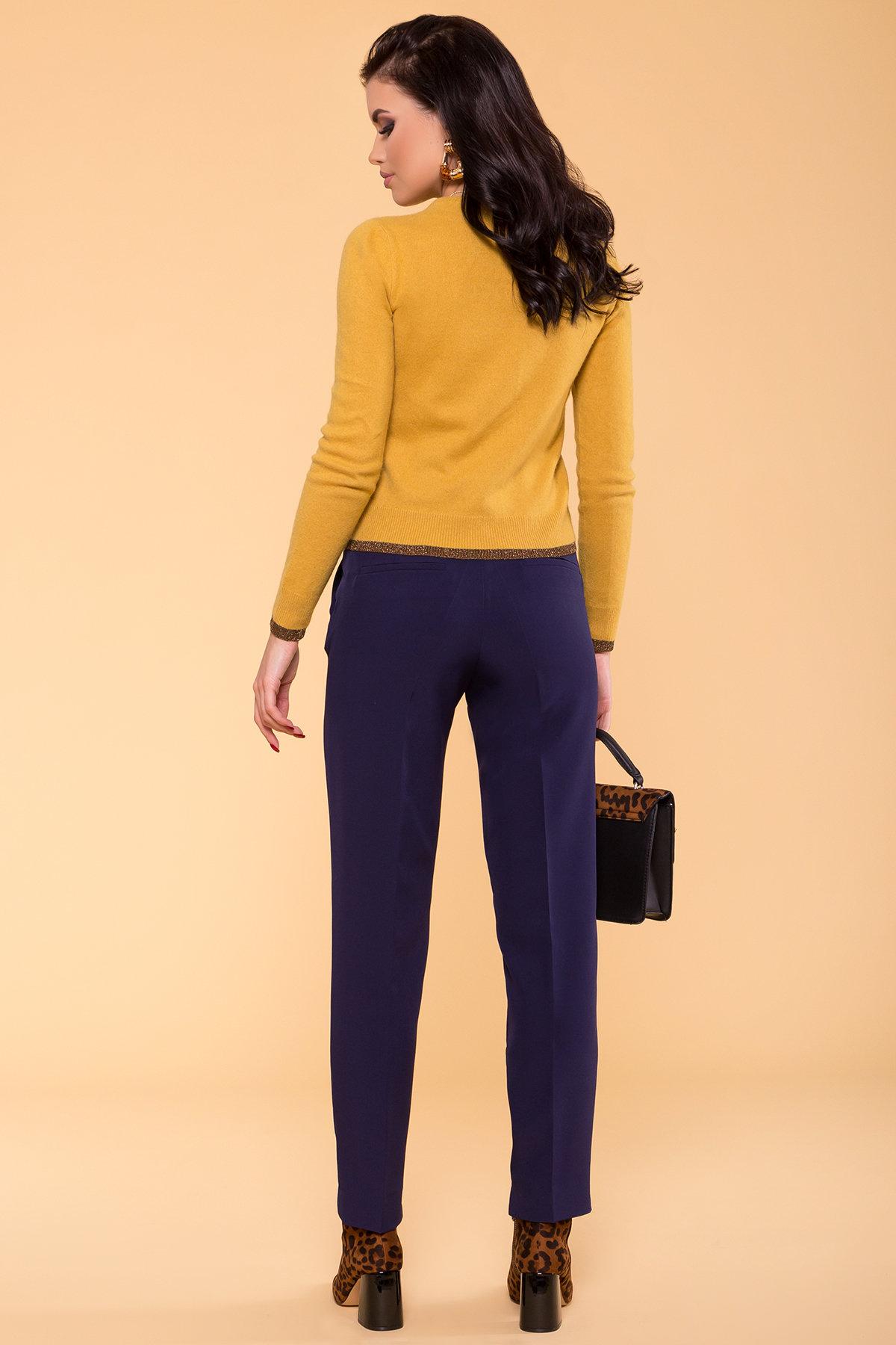 Базовые брюки со стрелками Эдвин 2467 АРТ. 15260 Цвет: Тёмно-синий - фото 4, интернет магазин tm-modus.ru