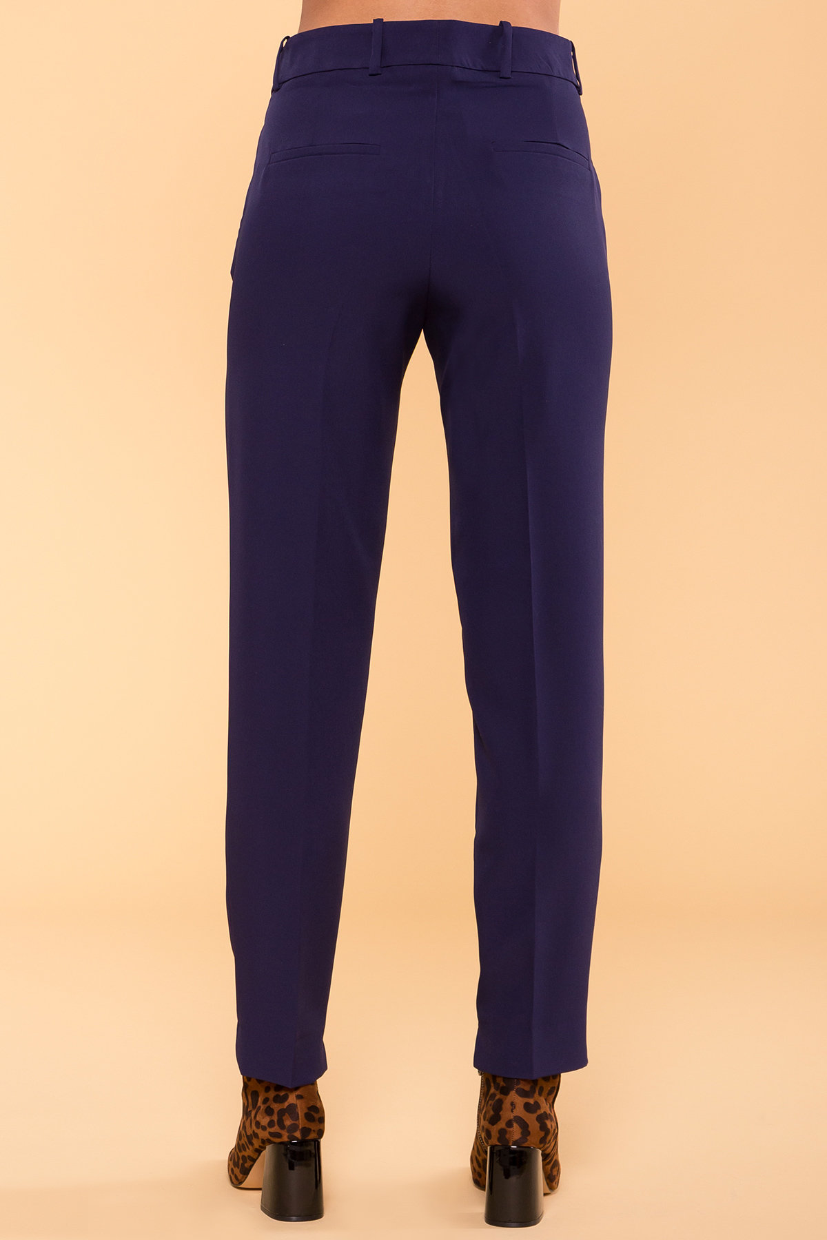 Базовые брюки со стрелками Эдвин 2467 АРТ. 15260 Цвет: Тёмно-синий - фото 8, интернет магазин tm-modus.ru