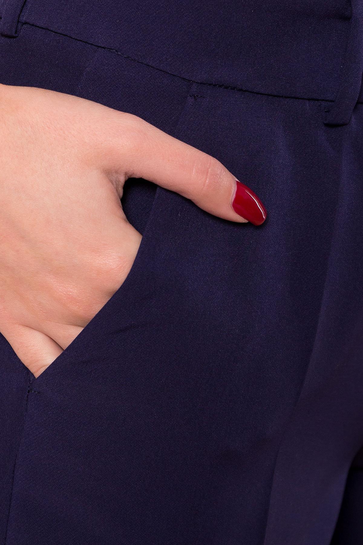 Базовые брюки со стрелками Эдвин 2467 АРТ. 15260 Цвет: Тёмно-синий - фото 9, интернет магазин tm-modus.ru